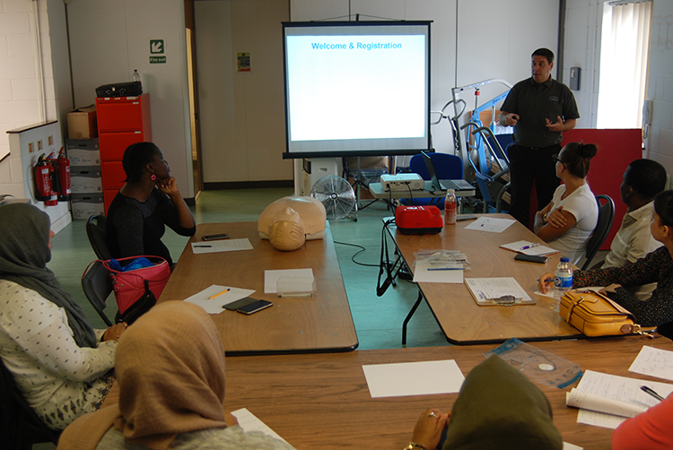 First Aid Courses being held at our Cardiff based First Aid Training facility